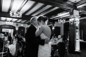 Daughter and father dance wedding Quebec