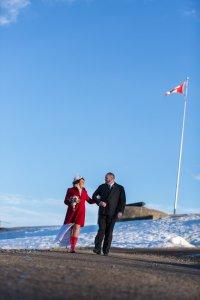 Fairmont Chateau Frontenac Elopement Canada