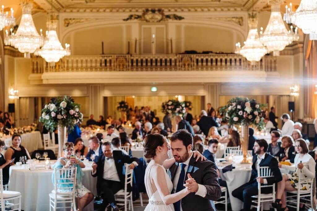 Mariage salle de bal chateau frontenac