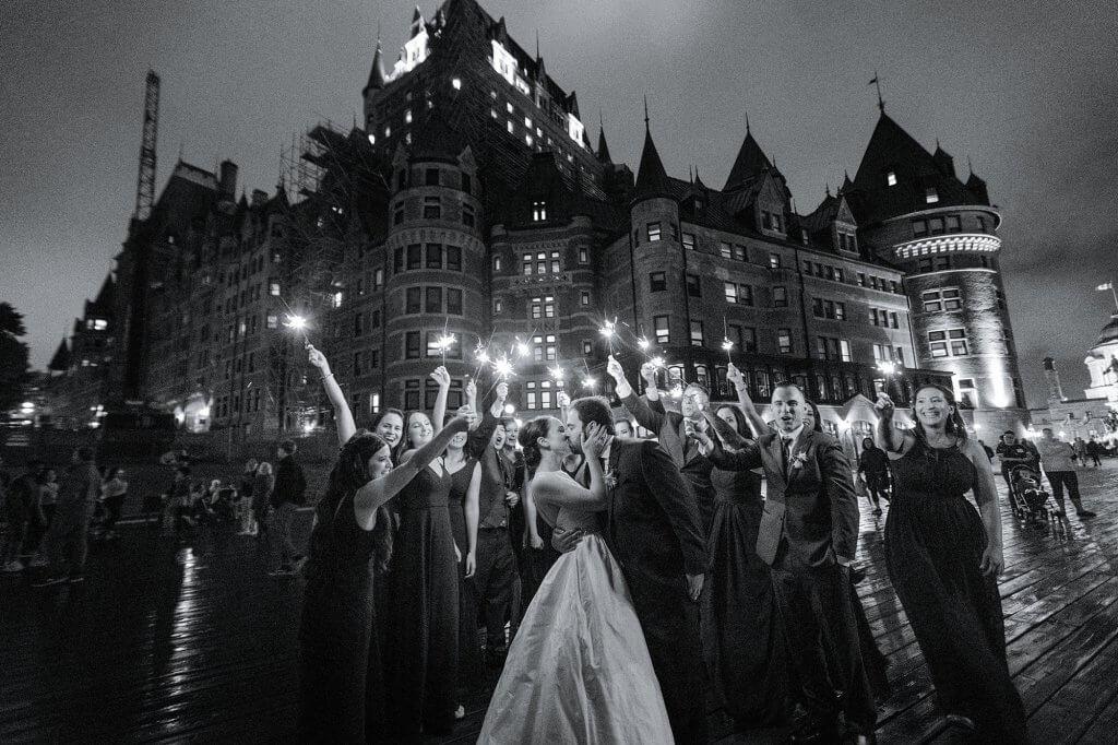 mariage magique chateau frontenac