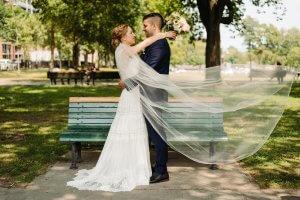 Romantic wedding quebec City