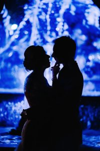 Silhouette mariage
