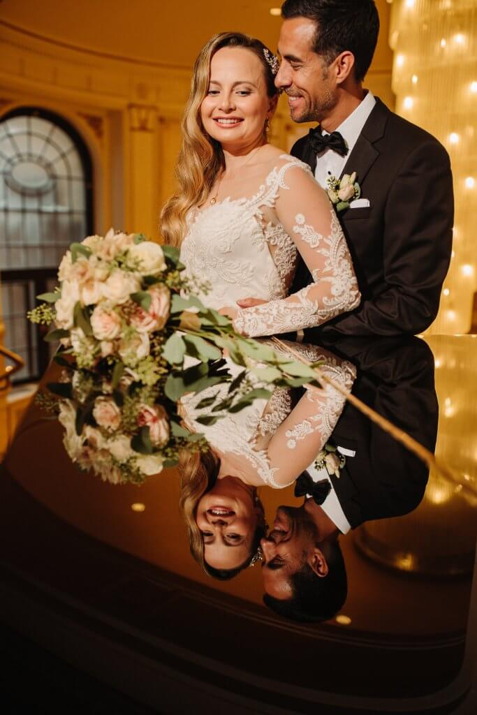 Mariage chateau Frontenac wedding elegant