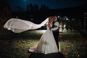 Magical wedding Quebec photographer