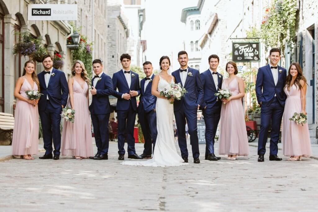 Old Quebec Cortege Wedding