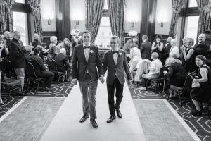Superbe mariage intime au Château Frontenac à Quebec