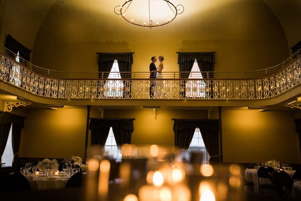 Morrin Center wedding romantic
