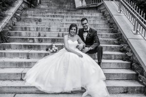 lifestyle wedding young couple Quebec