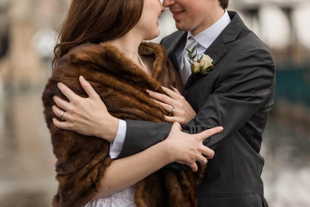 Terrasse Dufferin romantic wedding