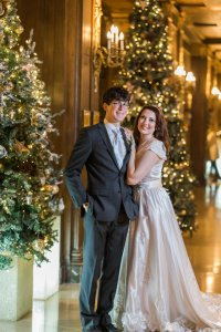 Chateau Frontenac mariage Noel