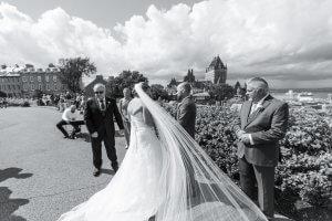 mariage terrasse Pierre Dugua De Mons