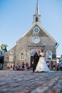 Place Royale mariage a Quebec