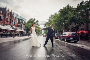 Vieux-Quebec Grande-Allée mariage