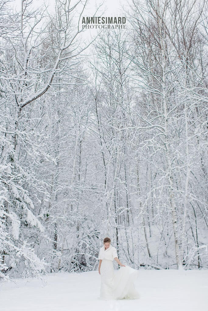 Hiver mariage a Quebec