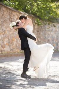 Mariage romantique a Quebec