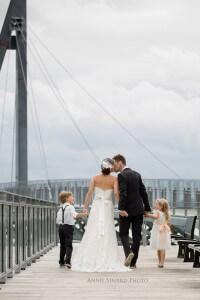 Mariage en famille a Quebec