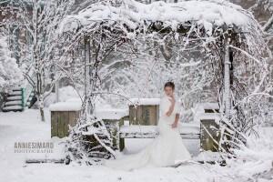 mariage d'hiver a Quebec