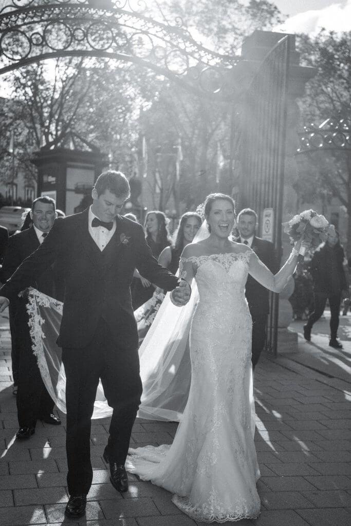 Wedding party Quebec