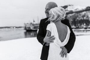 winter wedding Quebec City elopement