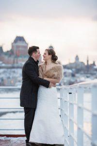 Mariage traversier de Quebec Levis