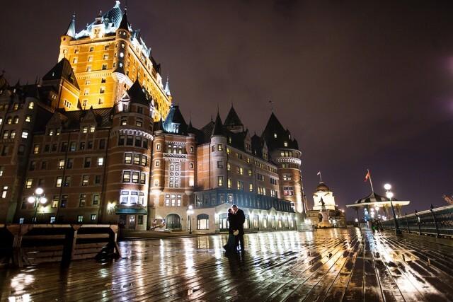 mariage Vieux-Quebec Chateau Frontenac