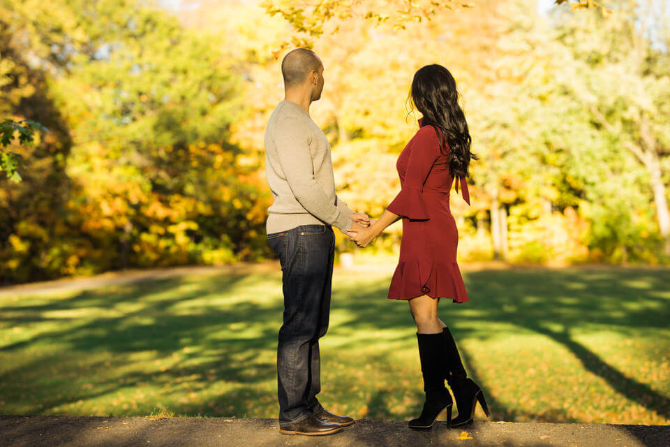 Engagement session Quebec City photographer fall
