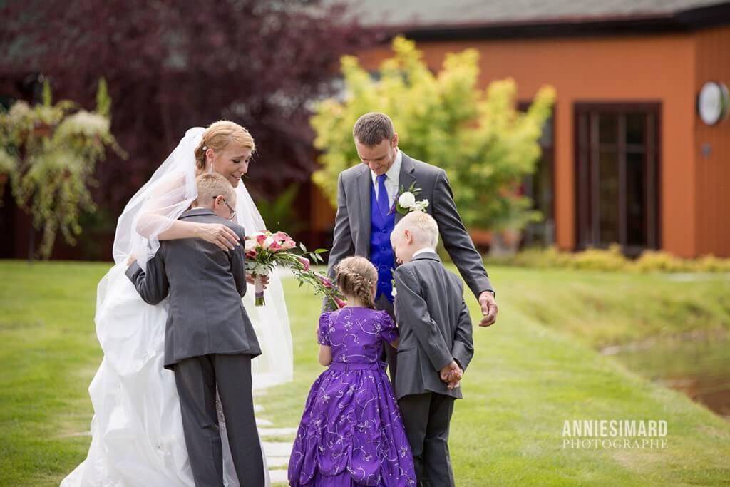 mariage familiale vignes