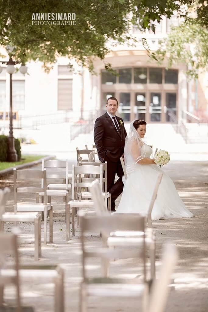 Magnifique mariage a Place Royale