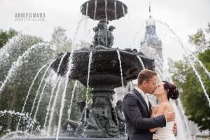 Fontaine de Tourny mariage