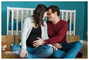 seance photo maternité a Québec