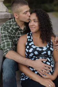 Séance photo exterieur maternité à Québec