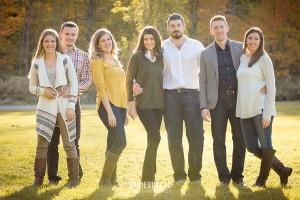 La famille en photo a Quebec