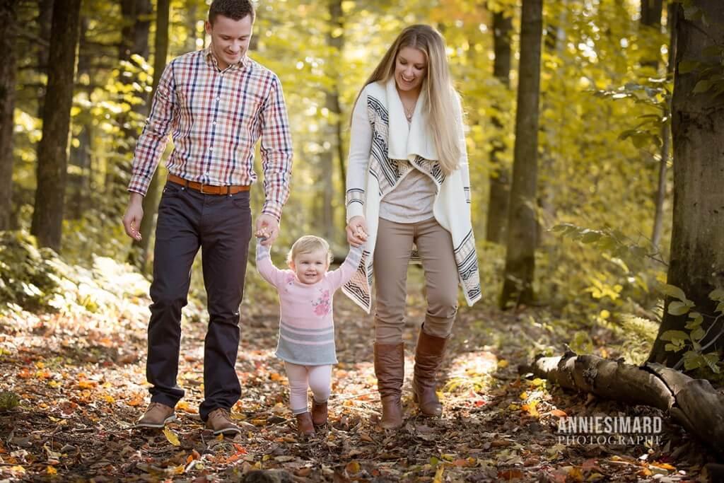 Seance en famille bébé à quebec