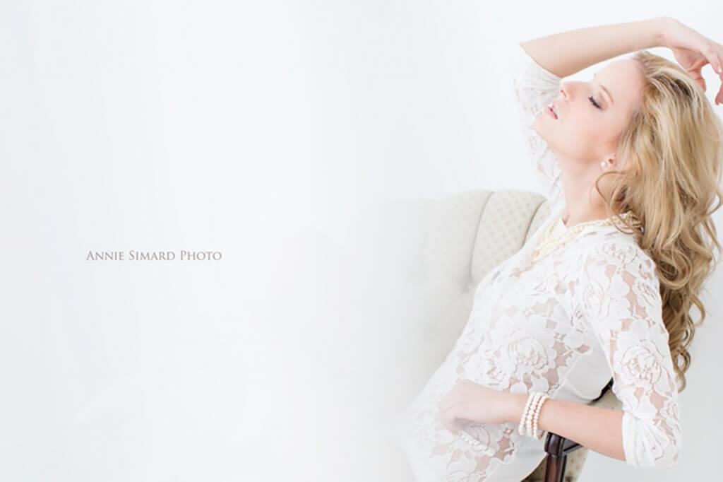 elegant boudoir photographe Quebec