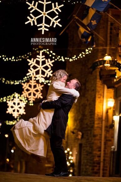 mariage surprise photos hiver