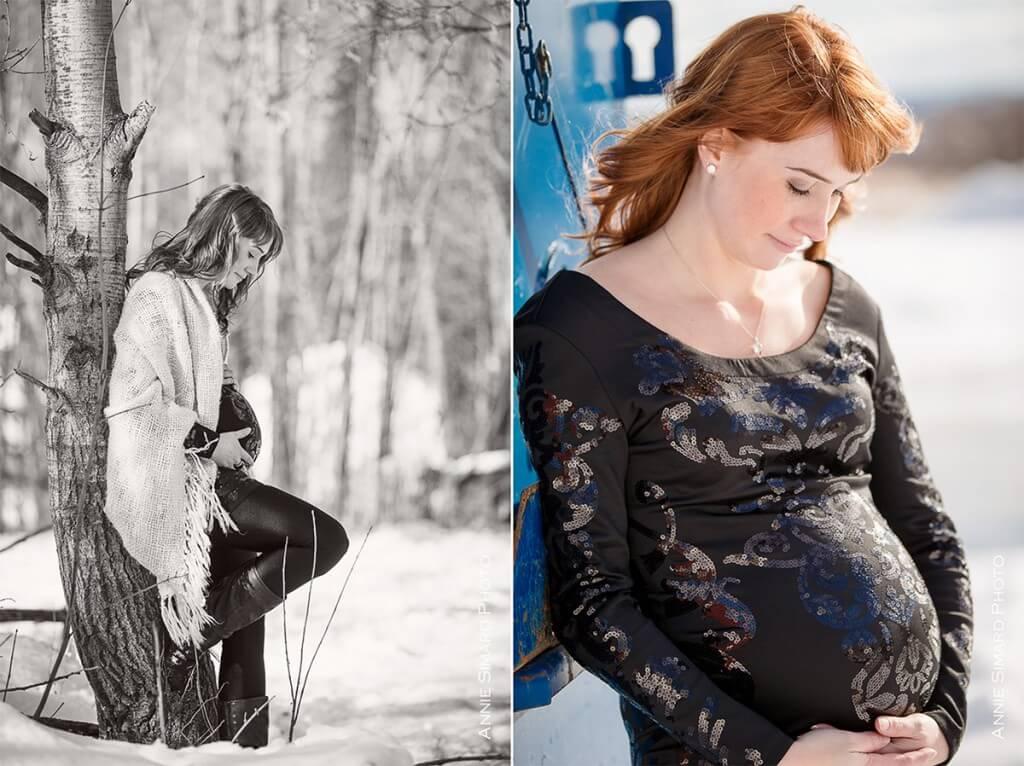 séance photo maternité à Québec