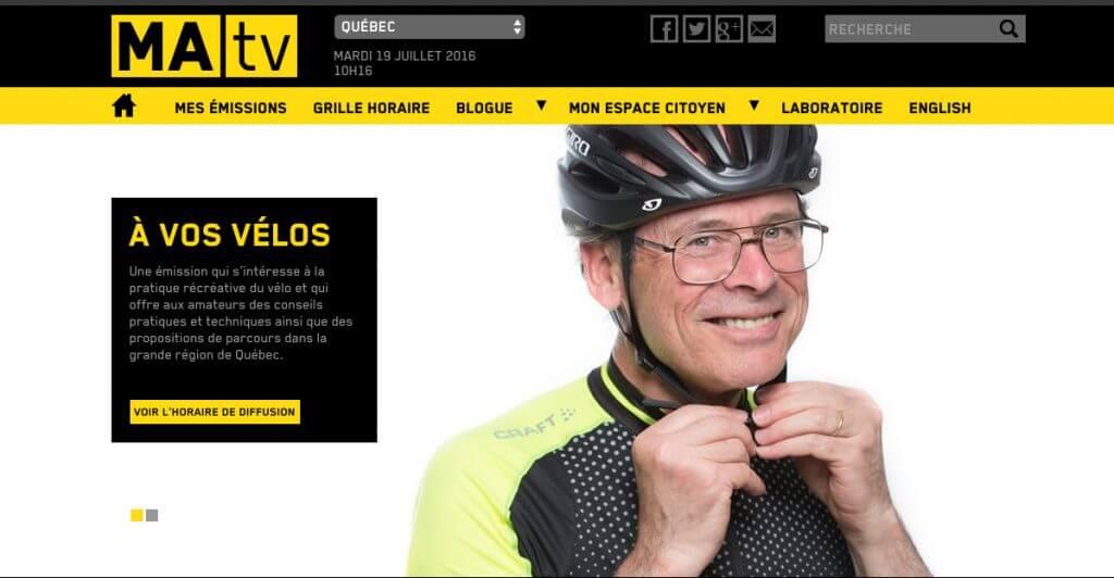 Portrait d'affaire a Quebec MaTV