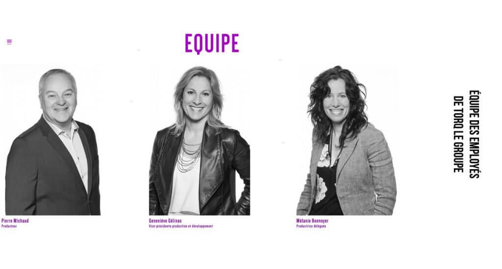 Portraits d'affaire fond blanc a Quebec