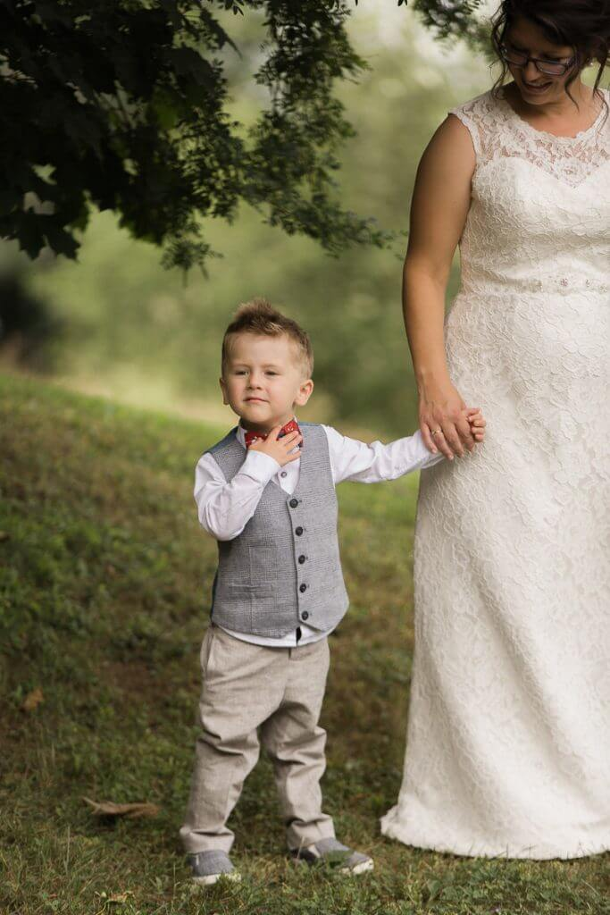 Mariage jeune famille photographe professionnel