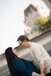 Vieux-Québec séance couple amoureux