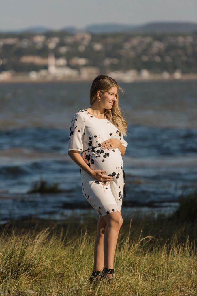 maternité bord de fleuve photographe