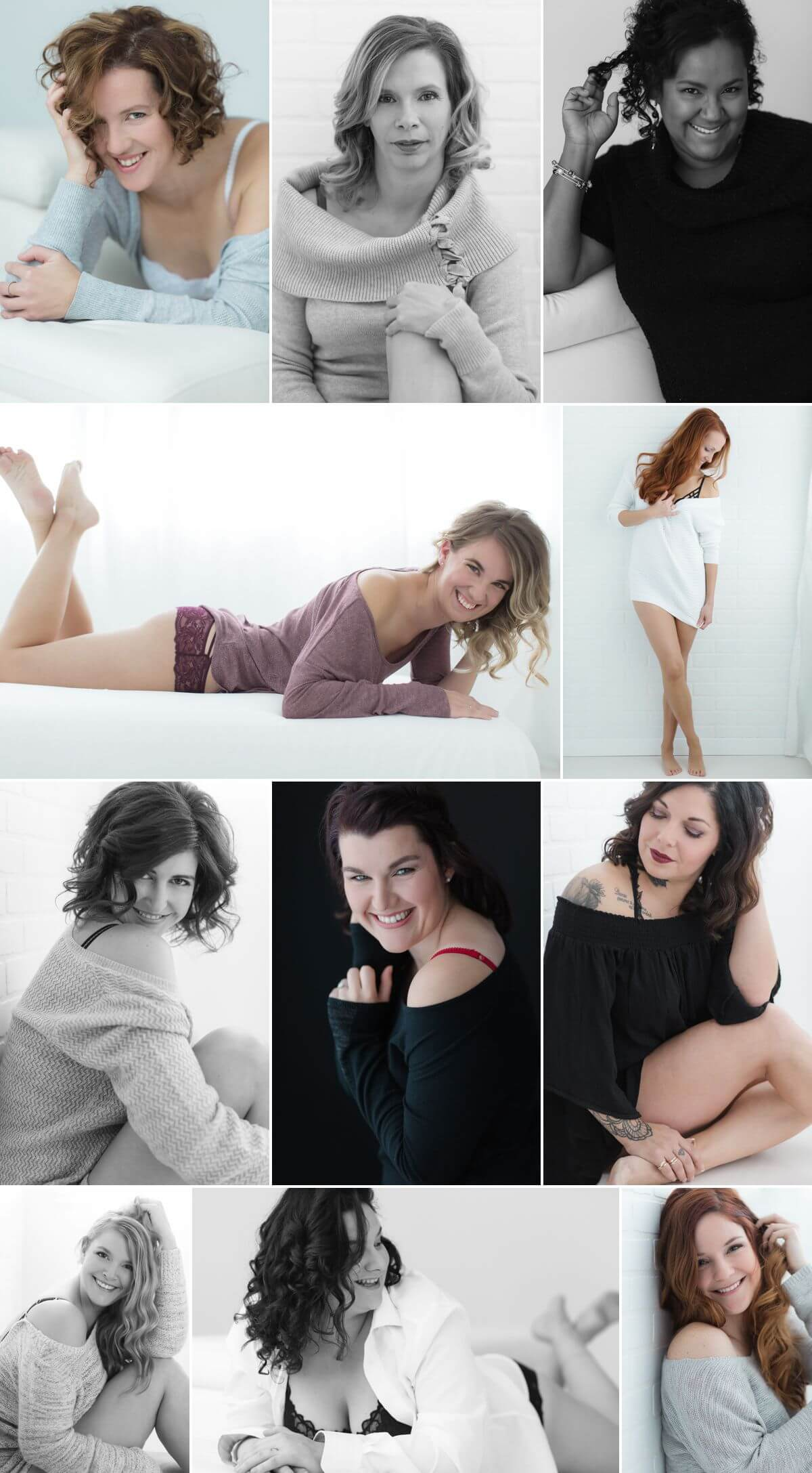 Seance photo boudoir professionnelle