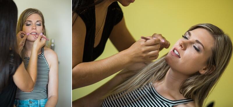 Annie Boucher maquilleuse pour photoshoot