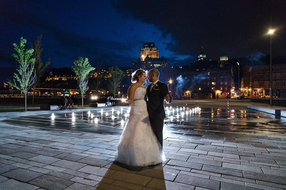 Place des canotiers mariage photo
