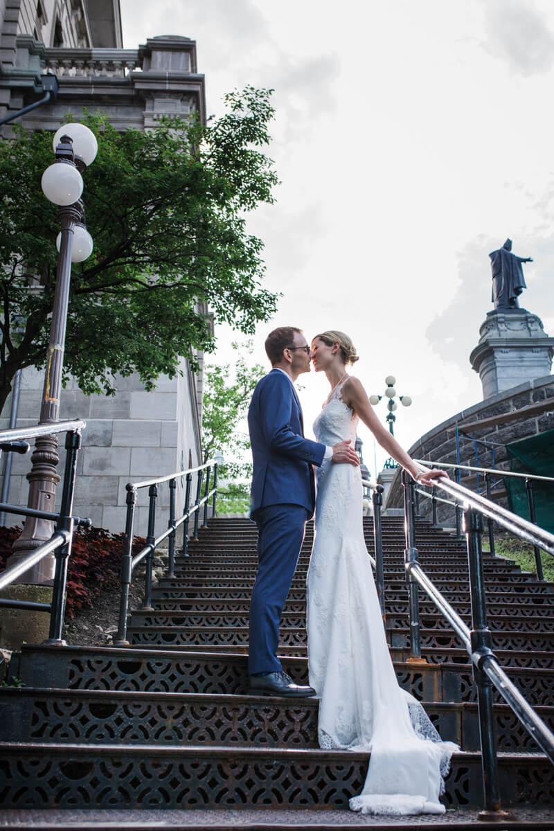 photographe de mariage Vieux-Québec