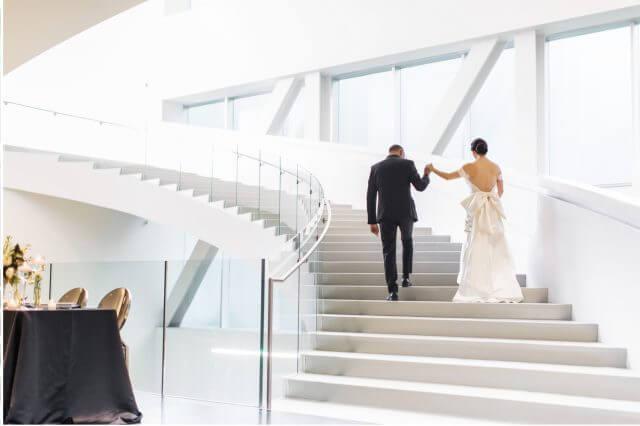 Escalier Pierre-lassonde mariage