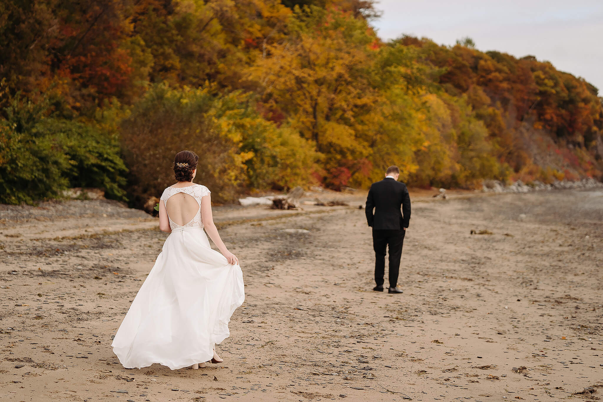 Cap Santé mariage Photographe wedding photographer fall