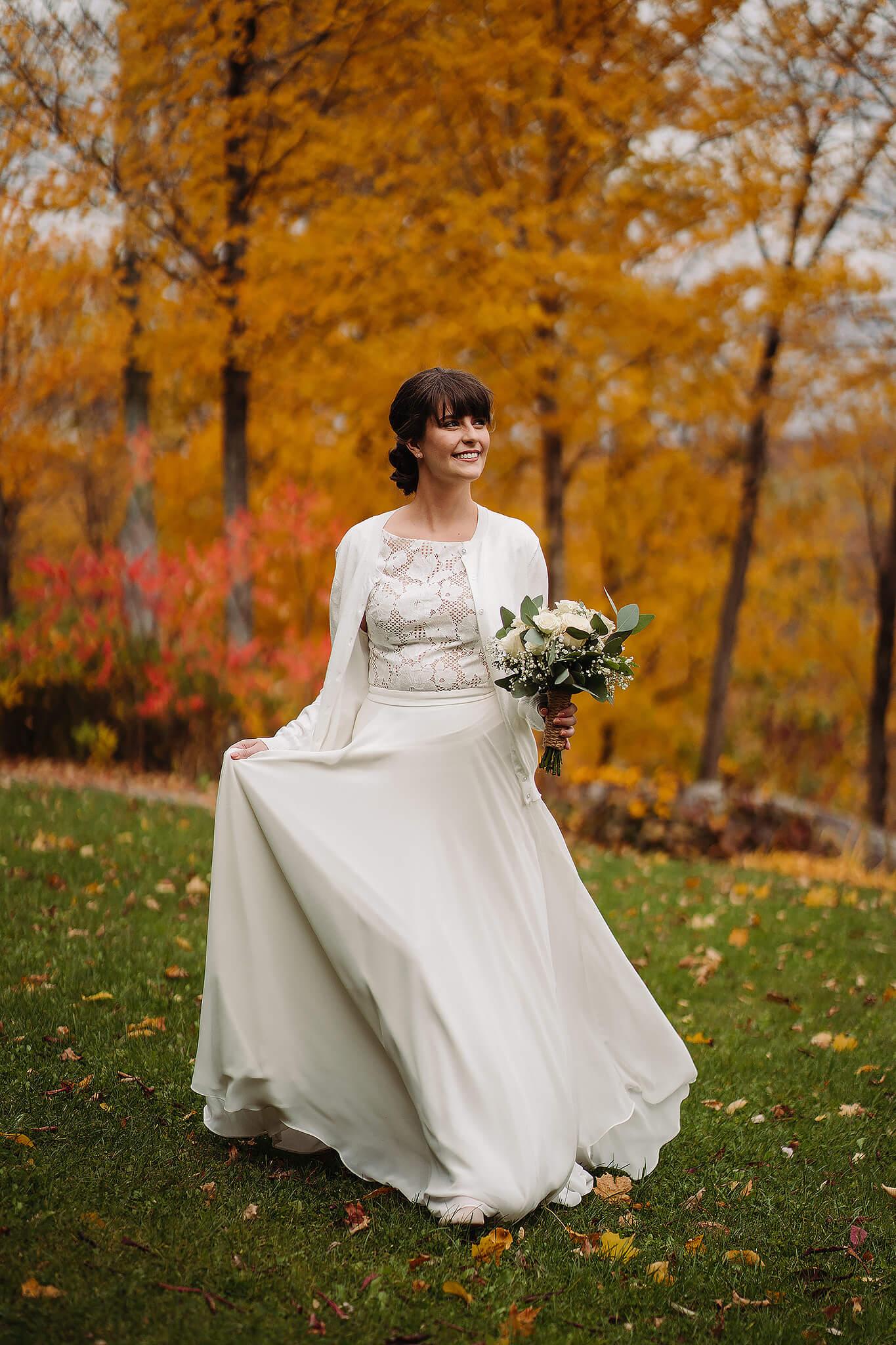 Photographe wedding photographer fall
