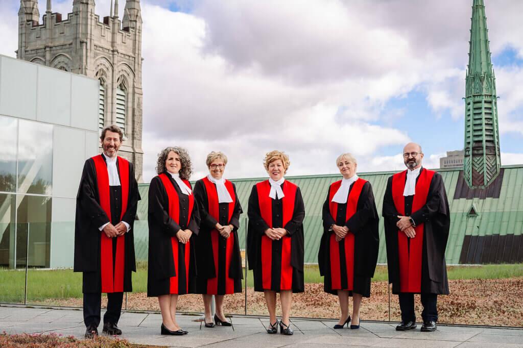 Juges en chef de la cour du Quebec